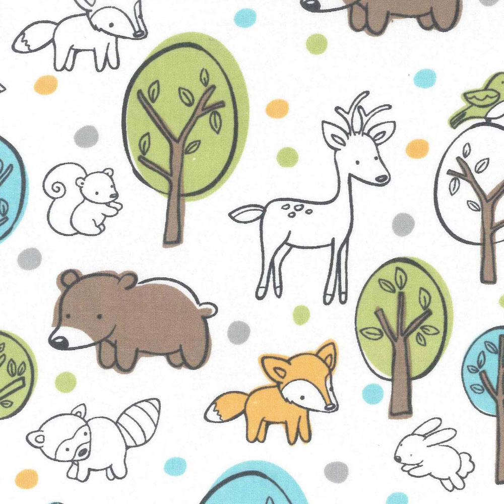 Curtains_Animals_In_Woods